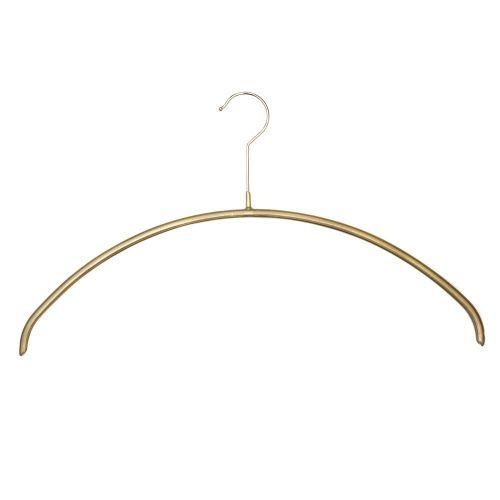 Deluxe Metallic Non-Slip Knitwear Hanger by Caraselle