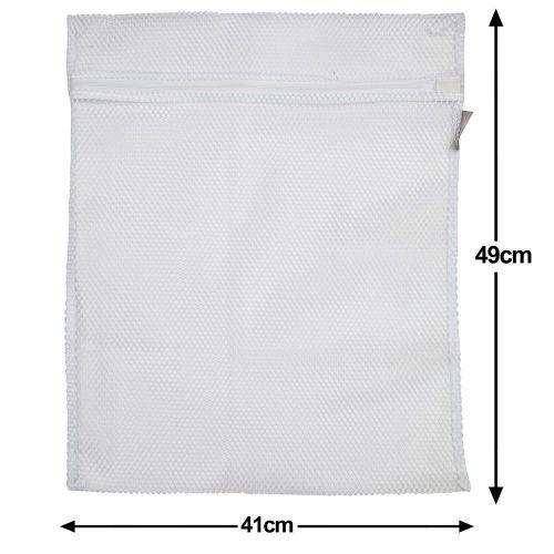 1 Caraselle  Large Zipped Net Laundry Washing Bag 41 x 49cms