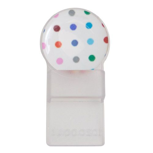 Caraselle Round Tozo Spectacle Holder Colourful Spots