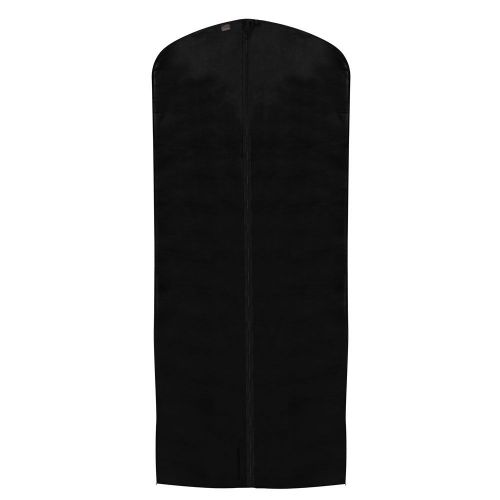 "Black Peva Dress Cover - 128 x 60cms (50"" x 24"") - Moth Resistant"