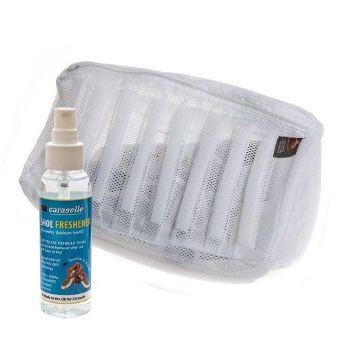 Fresh Feet Kit from Caraselle - Shoe Trainer Wash Bag and 100ml Shoe Freshener