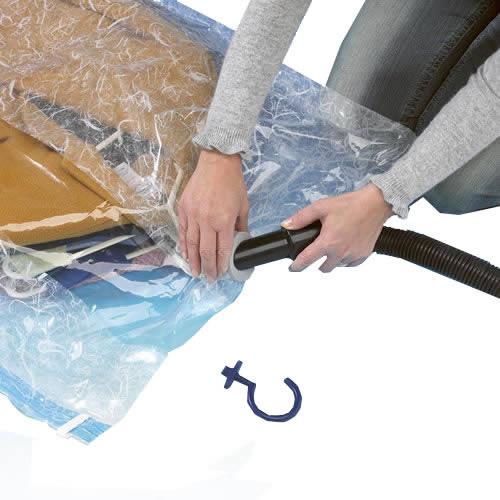 Hanging Vacuum Clothes Organiser