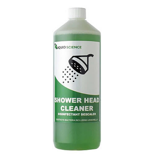 Showerhead Cleaner Disinfectant Descaler Limescale