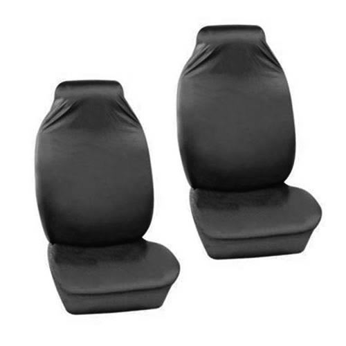 The Caraselle Heavy Duty 100% Nylon Front Car Seat protectors in Grey