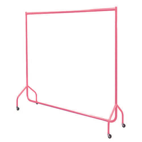 6ft Pink Garment Rail