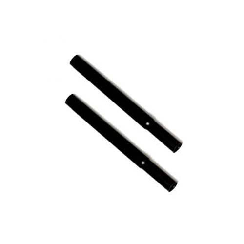 "Caraselle pair of Black 23cm ( 9"" ) Black Extension Pieces to increase the height of our Garment Rails"