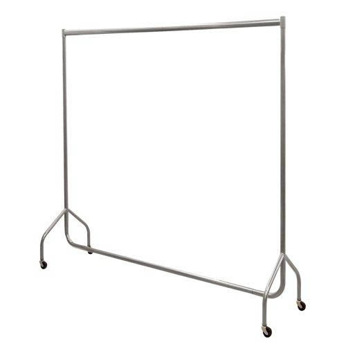 Garment Rail Silver Grey