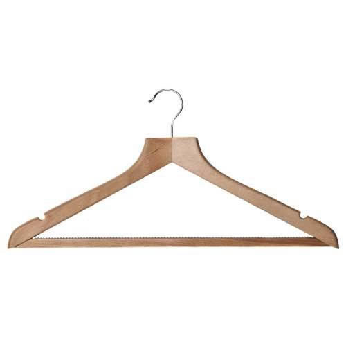 Wooden Hangers with Notches