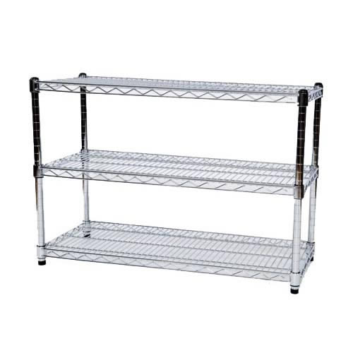 Get the Steel Shoe Racks with Chrome Finish