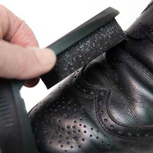 Black Shoe Shine Sponge