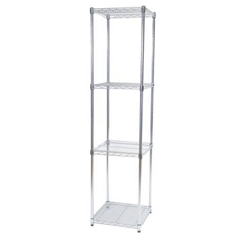 Shelving Unit-Stainless Steel
