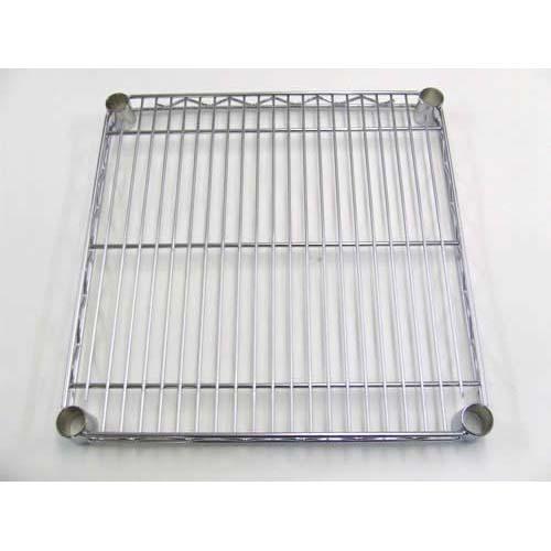 Steel Shelf With Chrome Finish