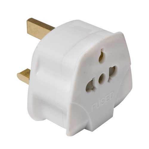 Caraselle Travel Plug Adaptor for UK Visitors