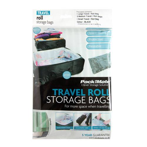 Pack Mate Travel Roll Storage Bags