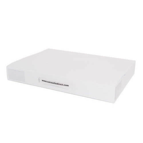 White A3 Size Stationery Wallet