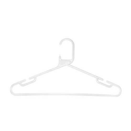 Caraselle White Heavy Duty Polypropylene Hanger
