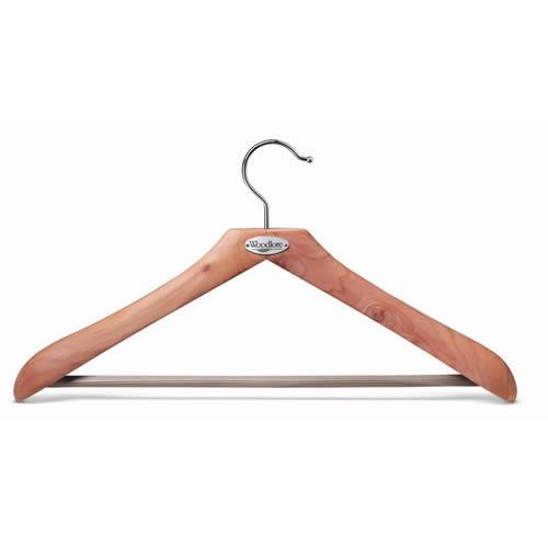 Woodlore Classic Cedar Wood Suit Hanger