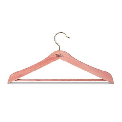 Woodlore Standard Cedar Wood Suit Hanger