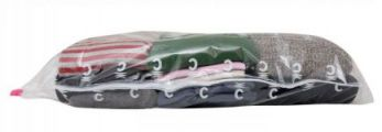 Vacuum Storage Jumper/blanket Volume Reducing Bag, Great for clothes and blankets