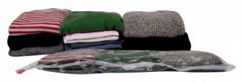 3 Vacuum Storage Jumper/blanket Volume Reducing Bags, Great for clothes and blankets