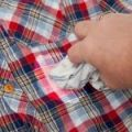 Deodorant Stains Removal from Clothes