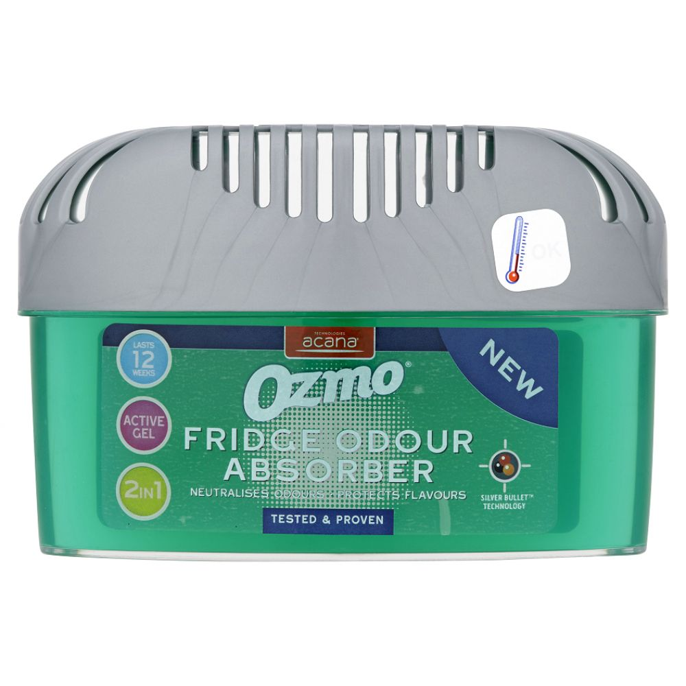 Ozmo Natural Fridge Odour Absorber 2 in 1 -200g from Caraselle