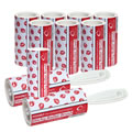 Caraselle Strawberry Roller Brush & 7 Refills 60m of very sticky paper